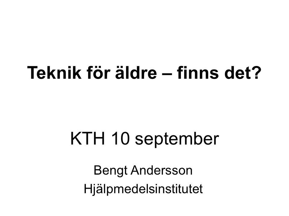 Bengt Andersson Hjälpmedelsinstitutet