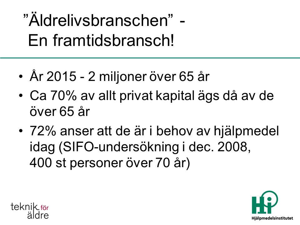 Äldrelivsbranschen - En framtidsbransch!