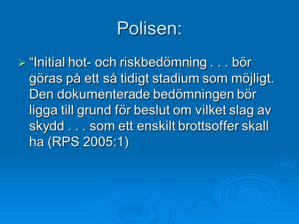 Polisen: