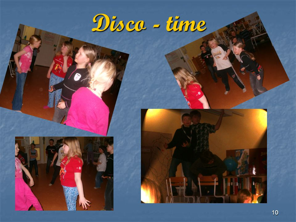 Disco - time
