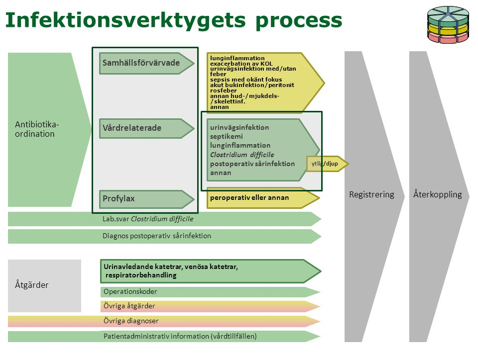 Infektionsverktygets process