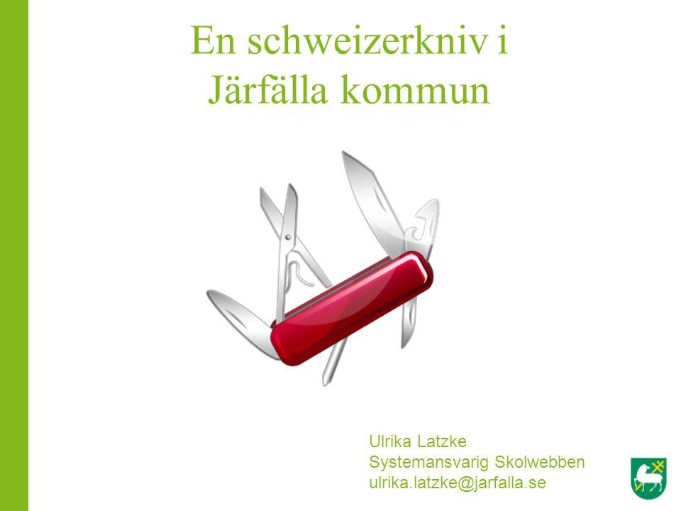 En schweizerkniv i Järfälla kommun