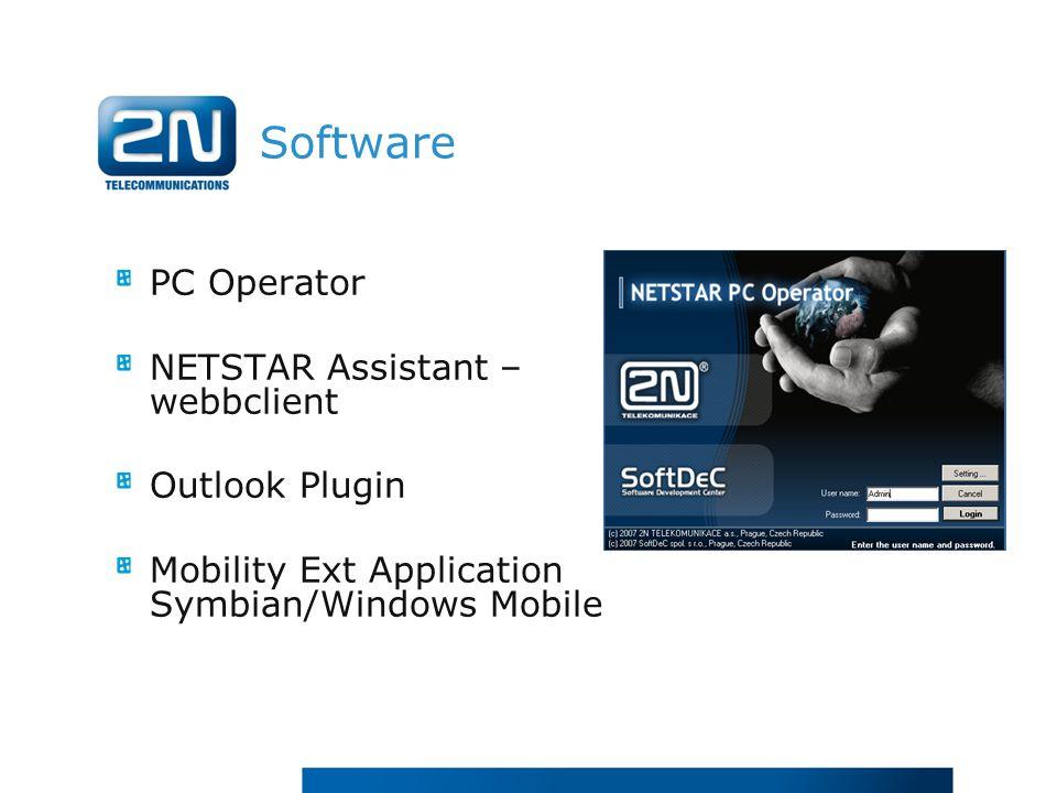 Software PC Operator NETSTAR Assistant – webbclient Outlook Plugin