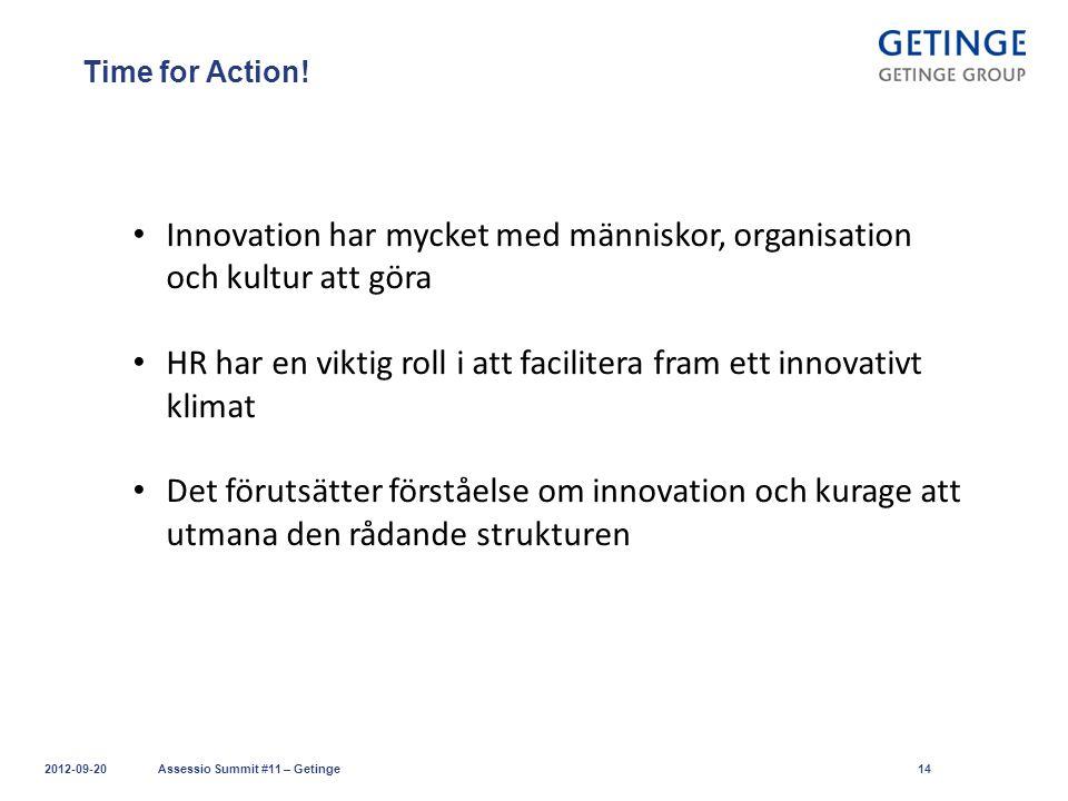 Innovation har mycket med människor, organisation och kultur att göra