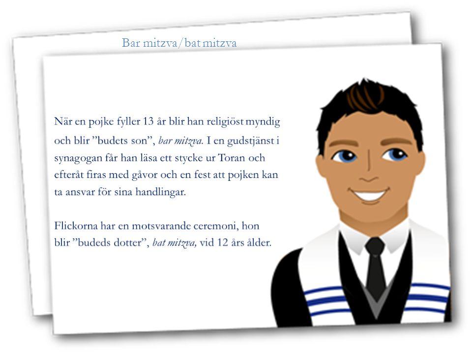 När en pojke fyller 13 år blir han religiöst myndig