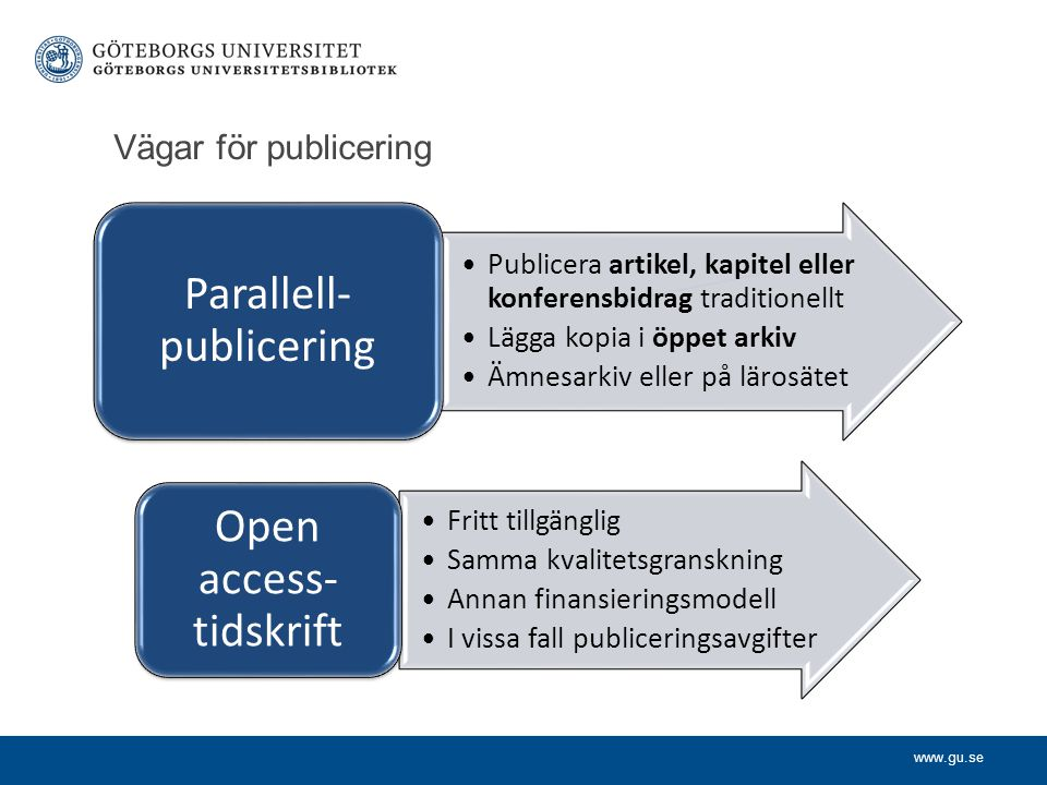 Parallell-publicering