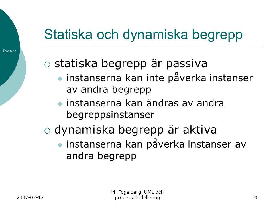 Statiska och dynamiska begrepp