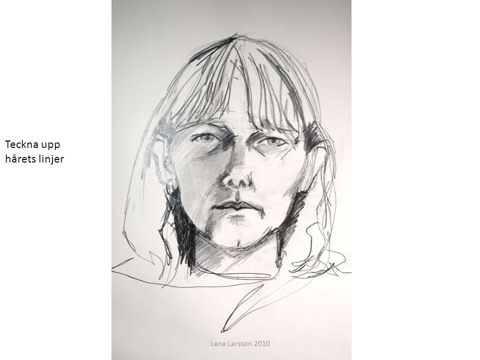 Teckna upp hårets linjer Lena Larsson 2010