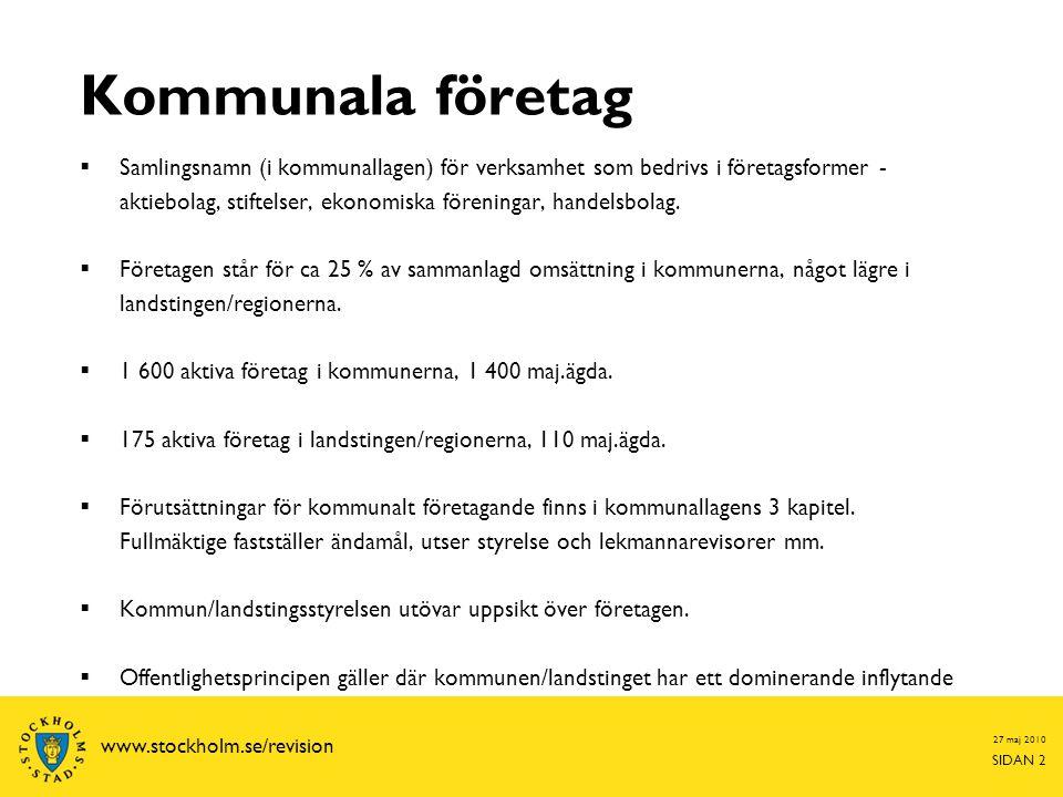 Kommunala företag
