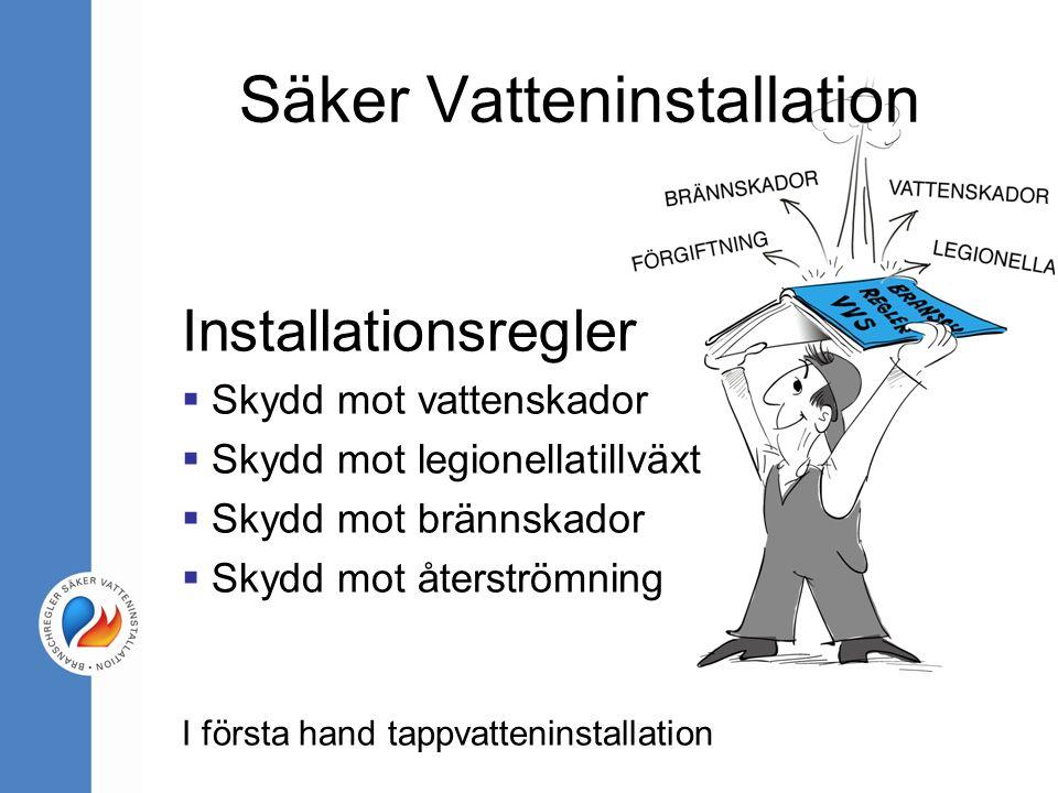 Säker Vatteninstallation