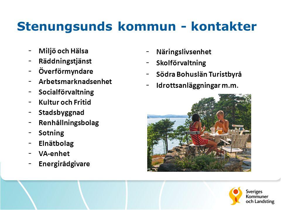 Stenungsunds kommun - kontakter