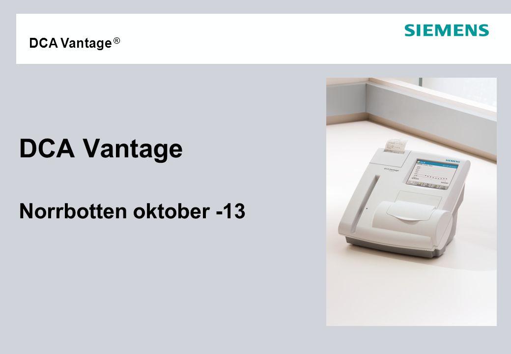 DCA Vantage Norrbotten oktober -13