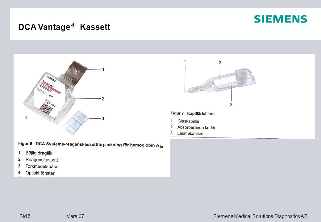 DCA Vantage ® Kassett