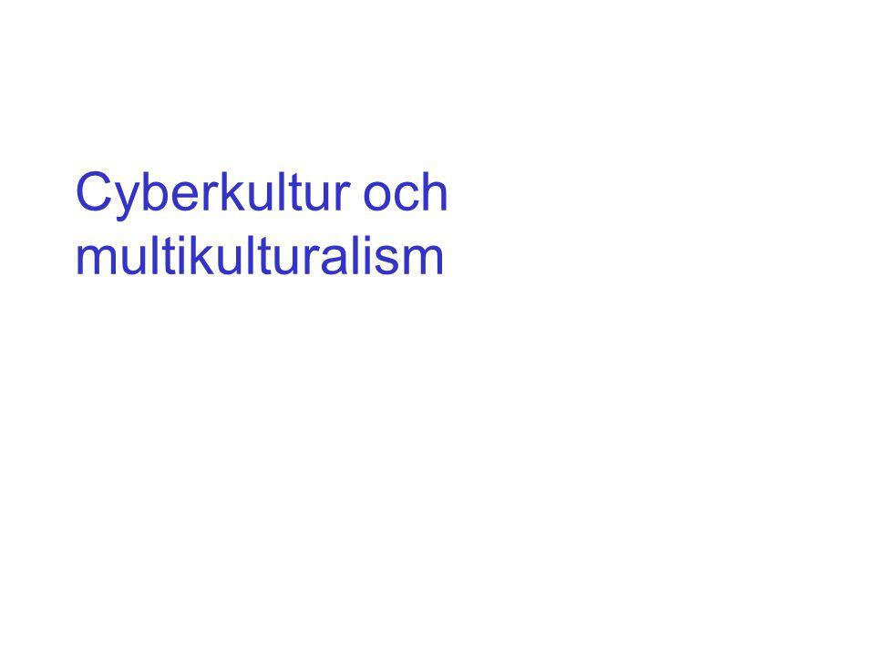 Cyberkultur och multikulturalism