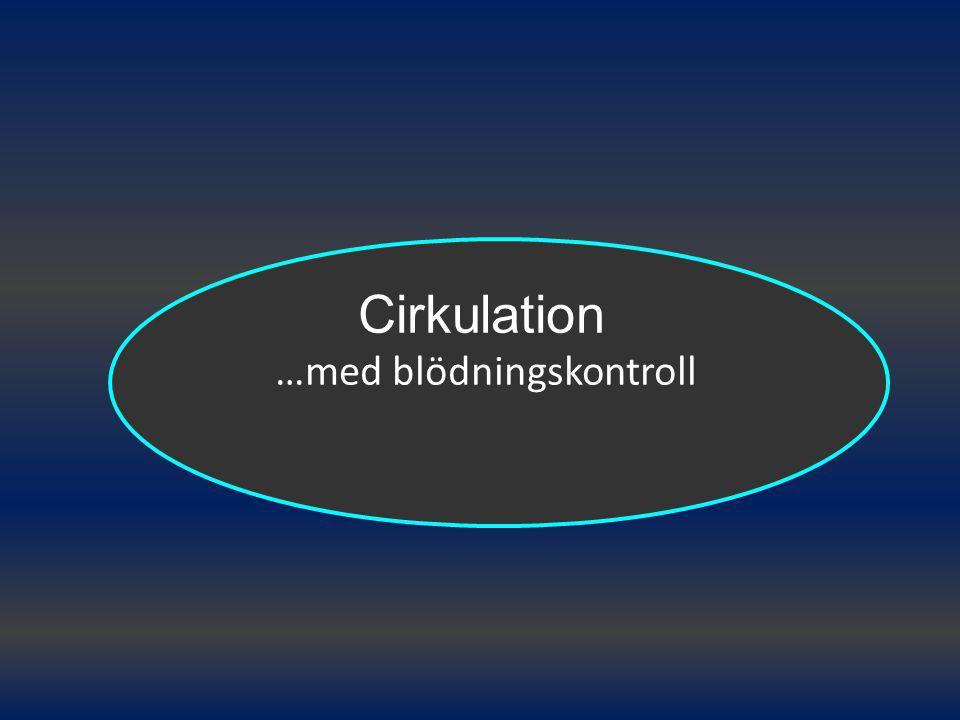 Cirkulation …med blödningskontroll
