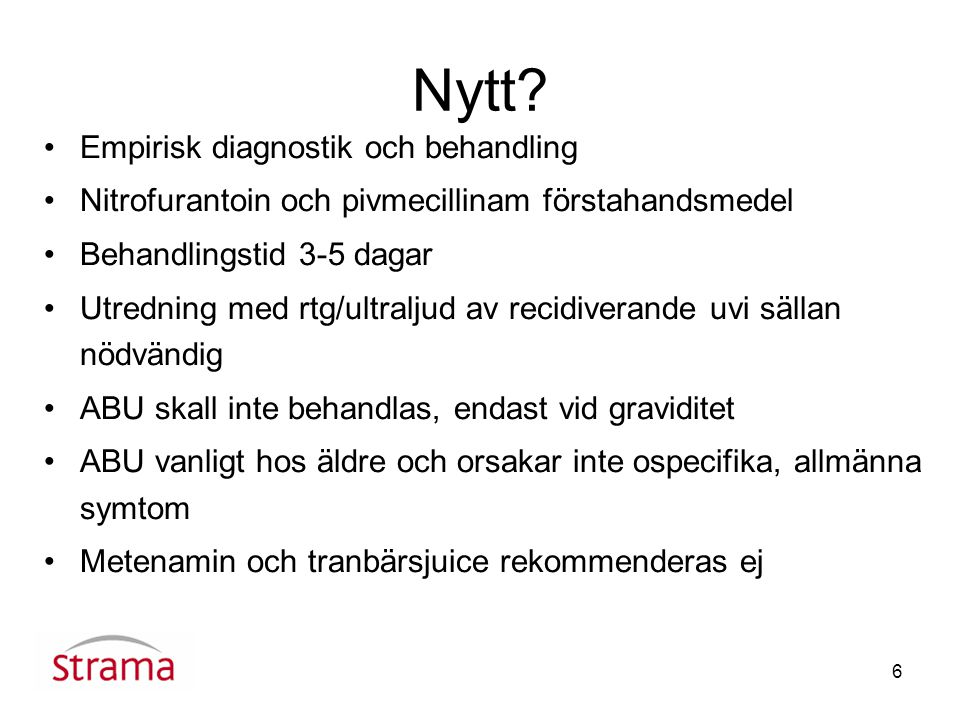 Nytt Empirisk diagnostik och behandling