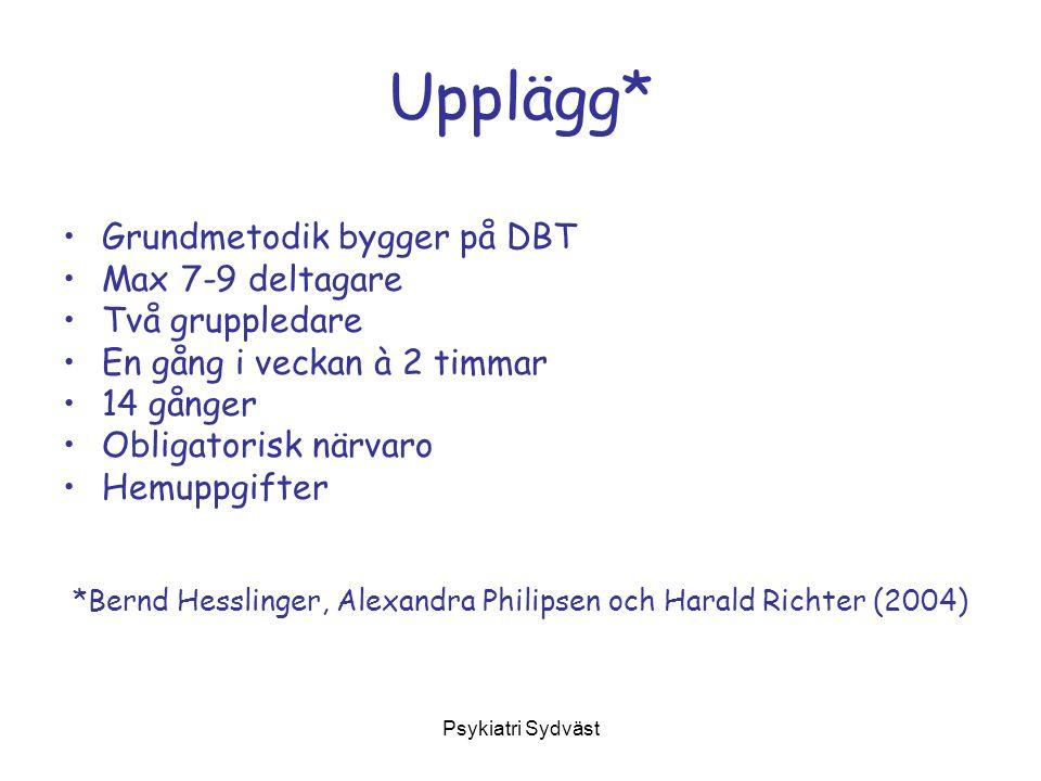 *Bernd Hesslinger, Alexandra Philipsen och Harald Richter (2004)