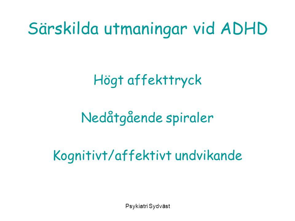 Särskilda utmaningar vid ADHD