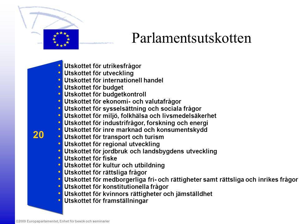 Parlamentsutskotten 20 Utskottet för utrikesfrågor