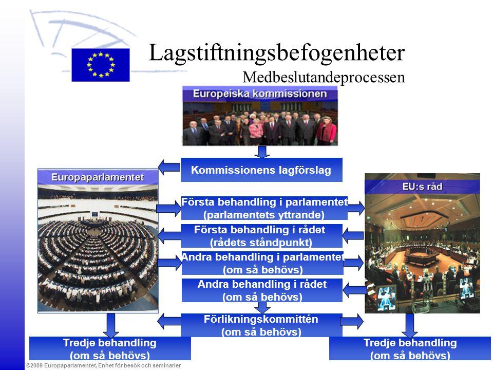 Lagstiftningsbefogenheter Medbeslutandeprocessen