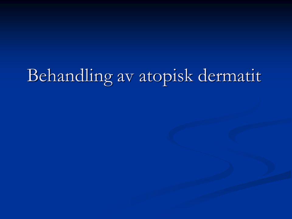 Behandling av atopisk dermatit