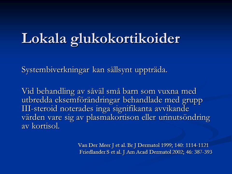 Lokala glukokortikoider