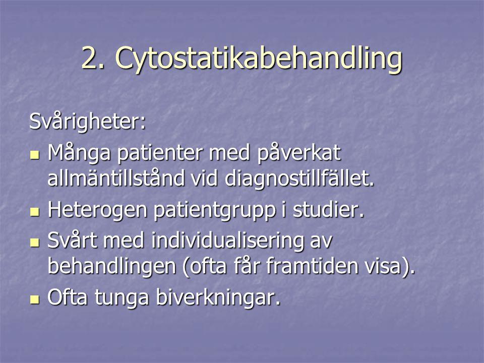 2. Cytostatikabehandling