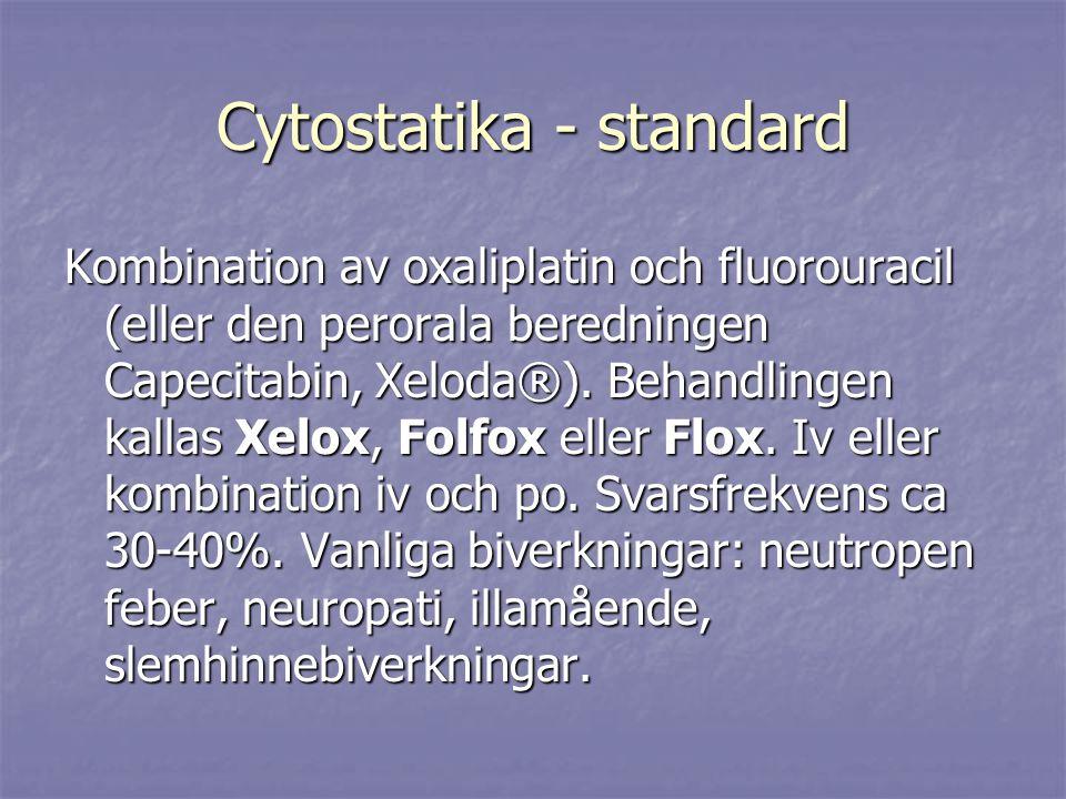 Cytostatika - standard
