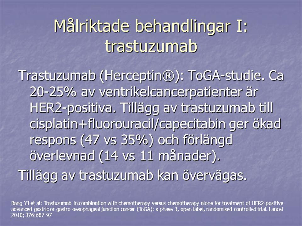 Målriktade behandlingar I: trastuzumab
