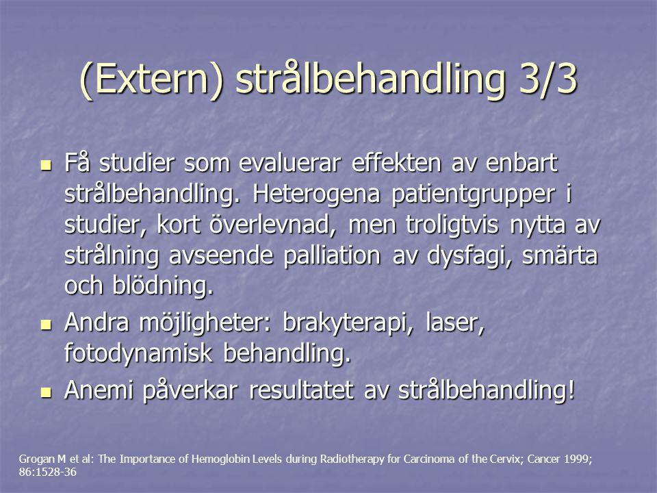 (Extern) strålbehandling 3/3
