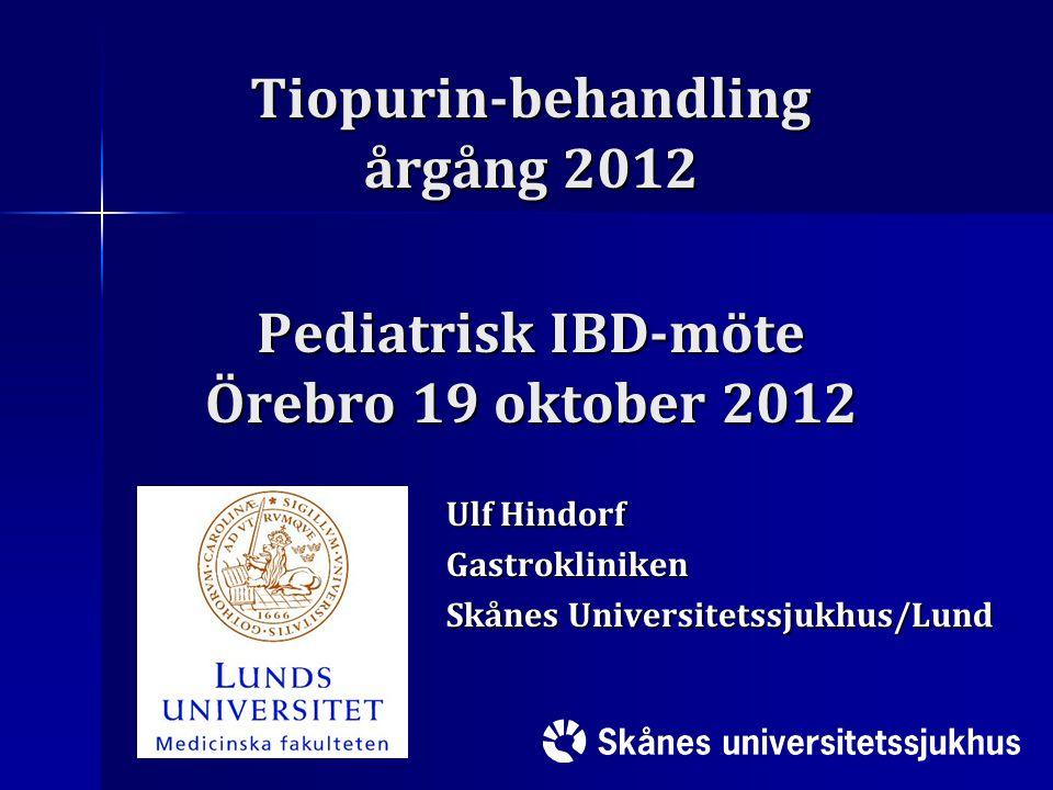 Ulf Hindorf Gastrokliniken Skånes Universitetssjukhus/Lund