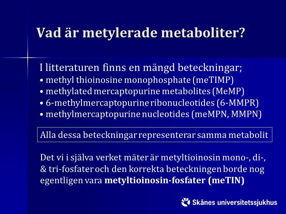 Vad är metylerade metaboliter