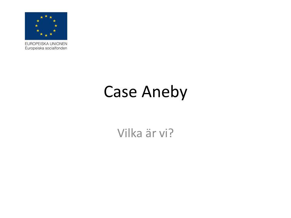 Case Aneby Vilka är vi