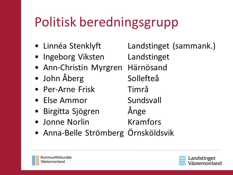 Politisk beredningsgrupp