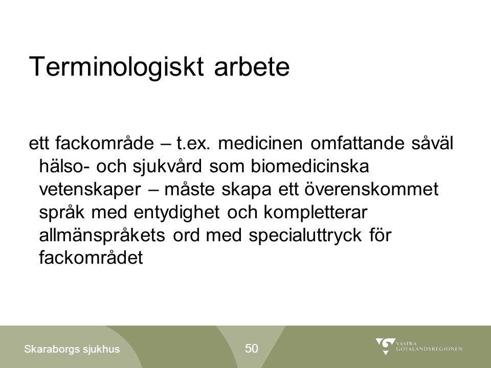Terminologiskt arbete