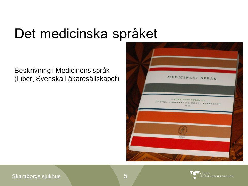 Det medicinska språket