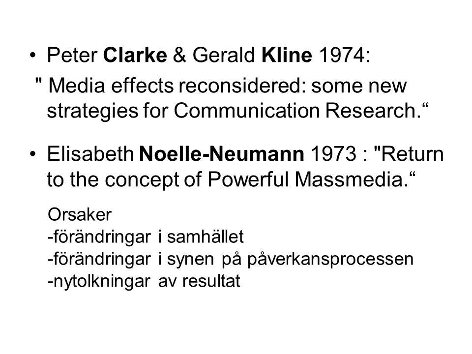Peter Clarke & Gerald Kline 1974: