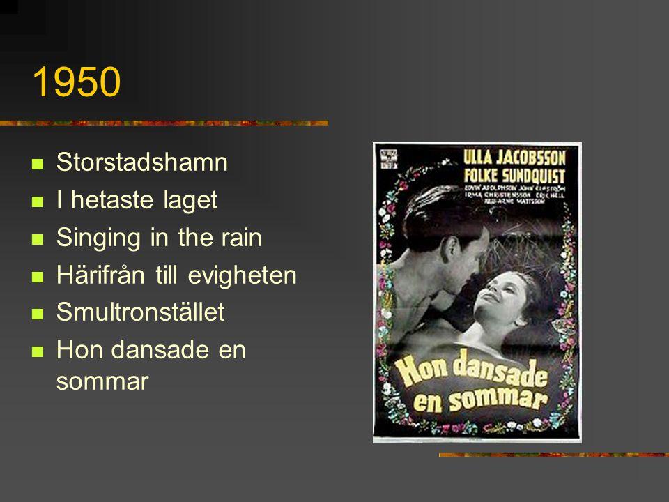 1950 Storstadshamn I hetaste laget Singing in the rain