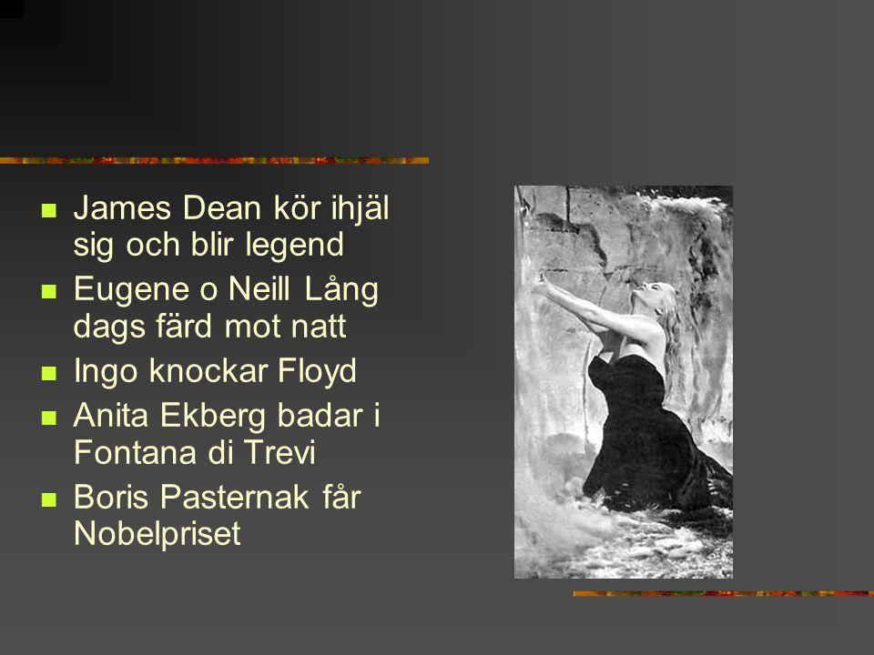 James Dean kör ihjäl sig och blir legend