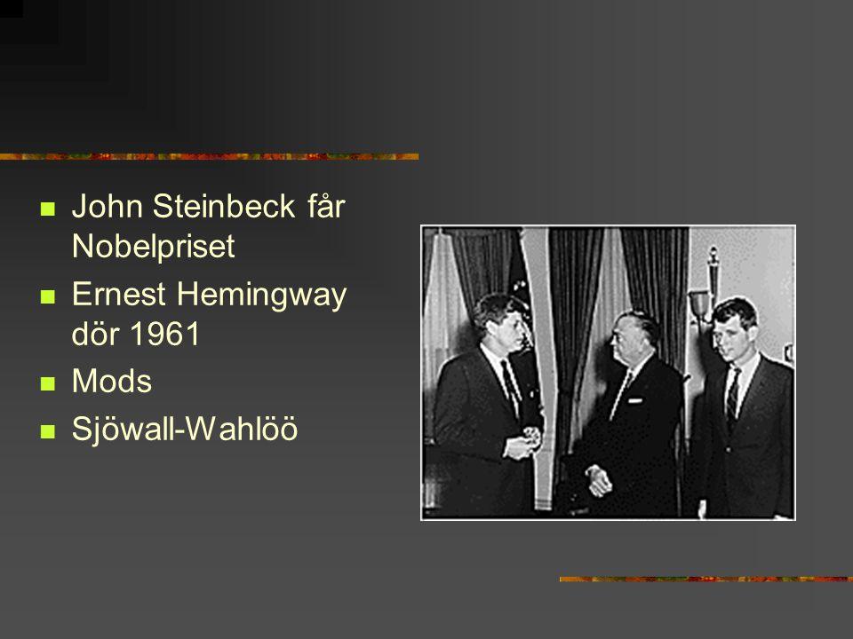 John Steinbeck får Nobelpriset