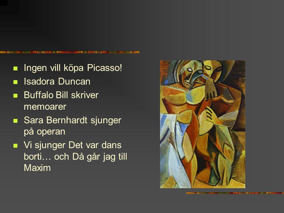 Ingen vill köpa Picasso!