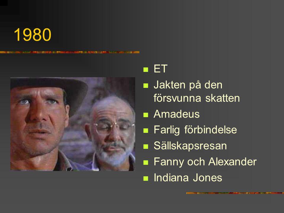 1980 ET Jakten på den försvunna skatten Amadeus Farlig förbindelse