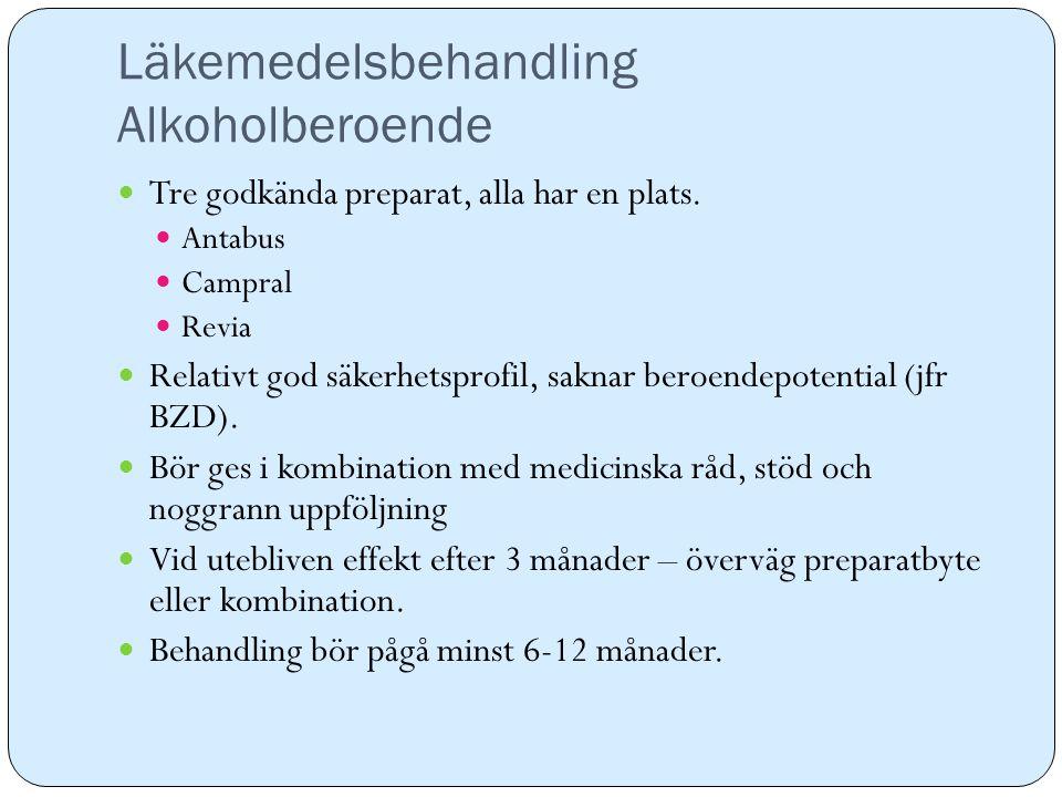Läkemedelsbehandling Alkoholberoende