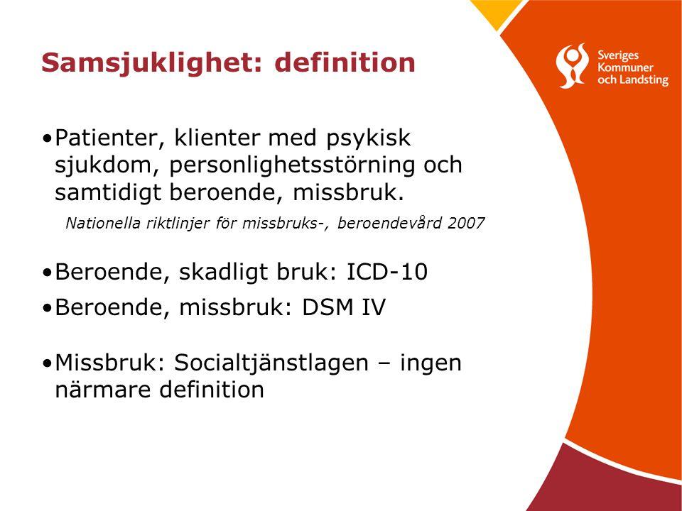 Samsjuklighet: definition