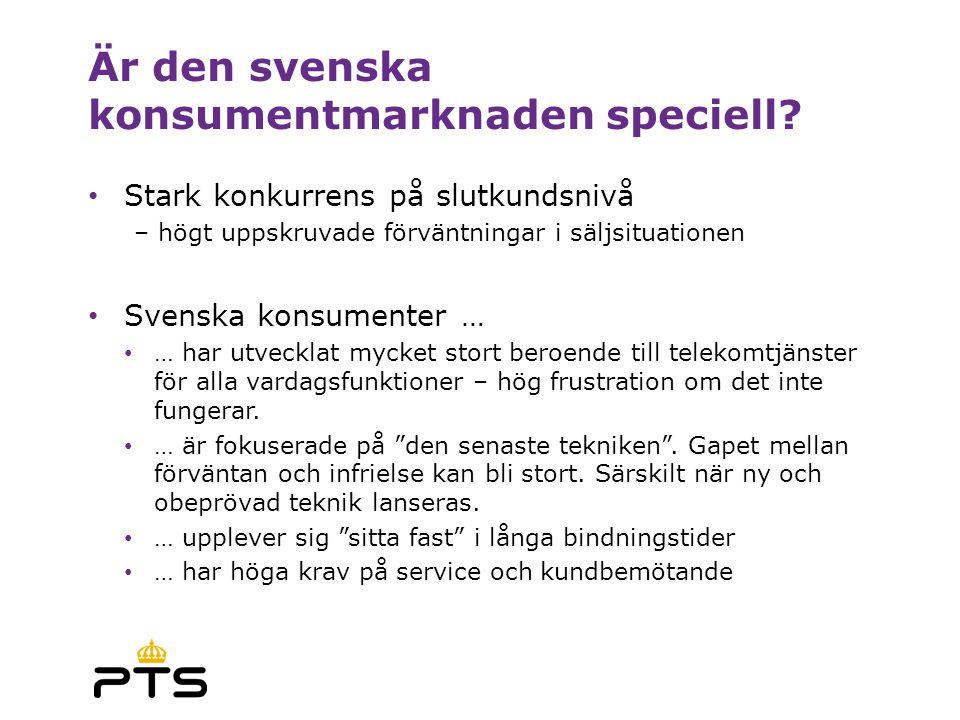 Är den svenska konsumentmarknaden speciell