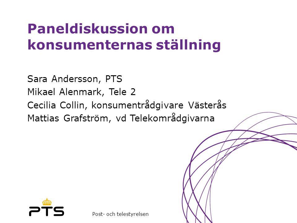 Paneldiskussion om konsumenternas ställning