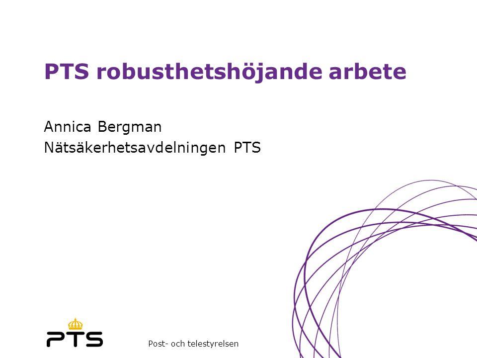 PTS robusthetshöjande arbete