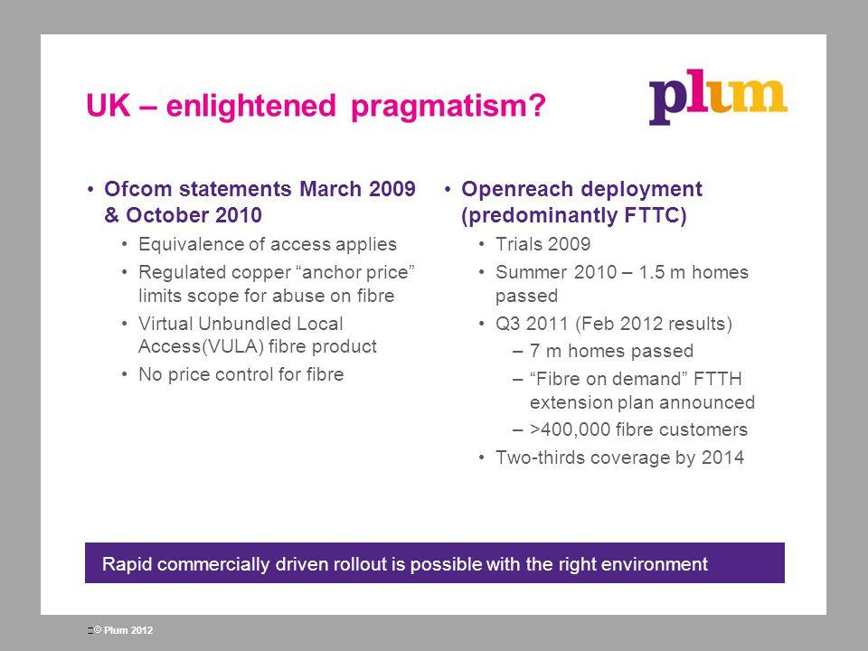 UK – enlightened pragmatism