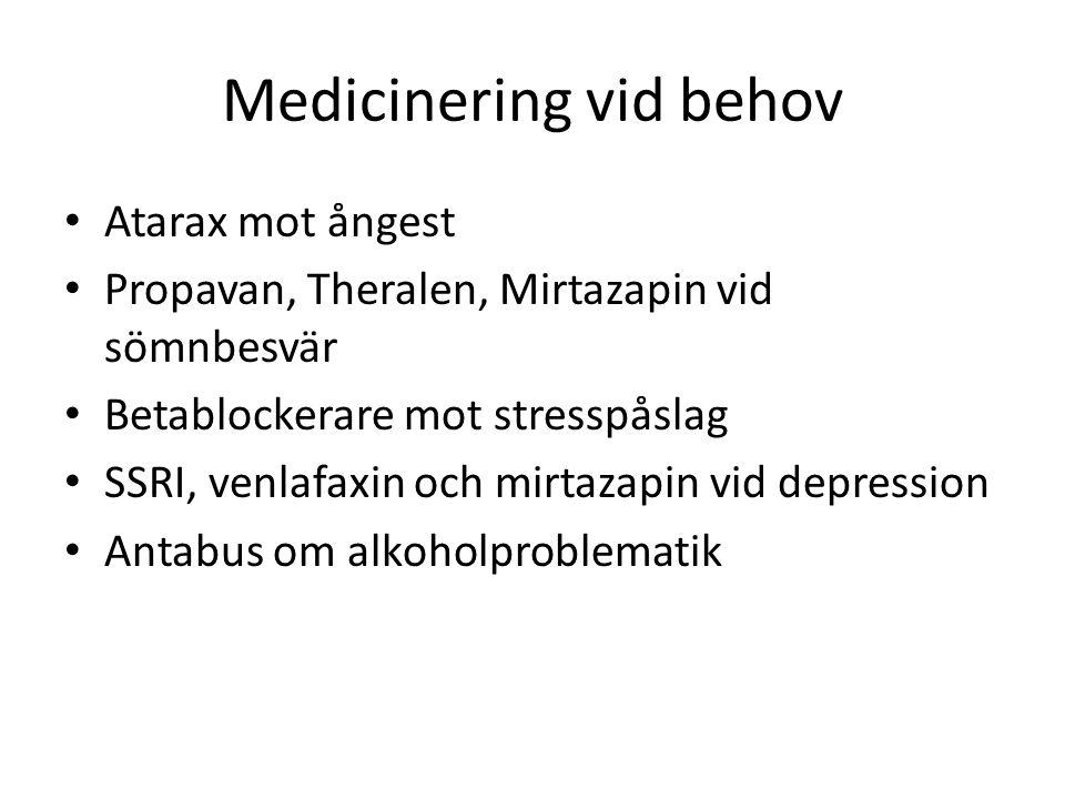 Medicinering vid behov