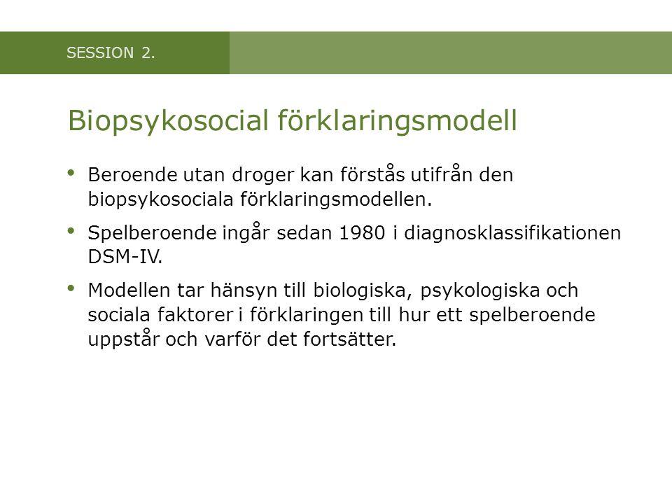 Biopsykosocial förklaringsmodell